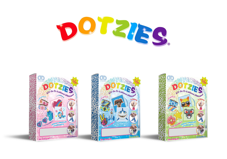 Dotzies Boutique Officielle De Diamond Dotz Broderie Diamant Diamond Painting Gamme Enfants