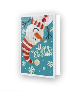 Carte de voeux Bonhomme de Noël DDG.019