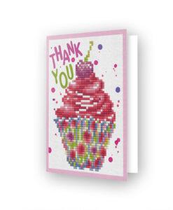 Carte de voeux Cupcake DDG.025