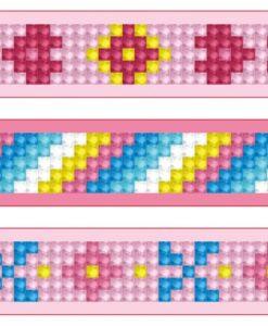 Bracelets roses DTZ11.008