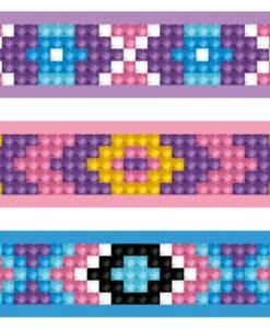 Bracelets mauves DTZ11.011